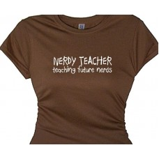 Nerdy Teacher teaching future nerds